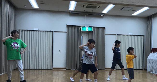 【中止連絡】7/28 ダンス講座
