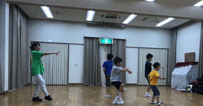 【中止連絡】8/18 ダンス講座